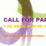 CALL FOR PAPERS – 1 de Abril a 30 de Junho